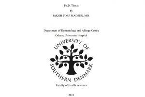 Jakob Torp Madsen's Ph.d. forside